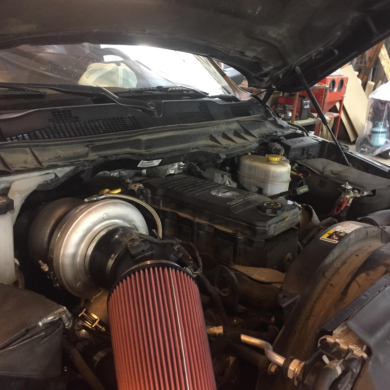 5th Gen Dodge Cummins Turbo Swap Gas And Diesel Garage